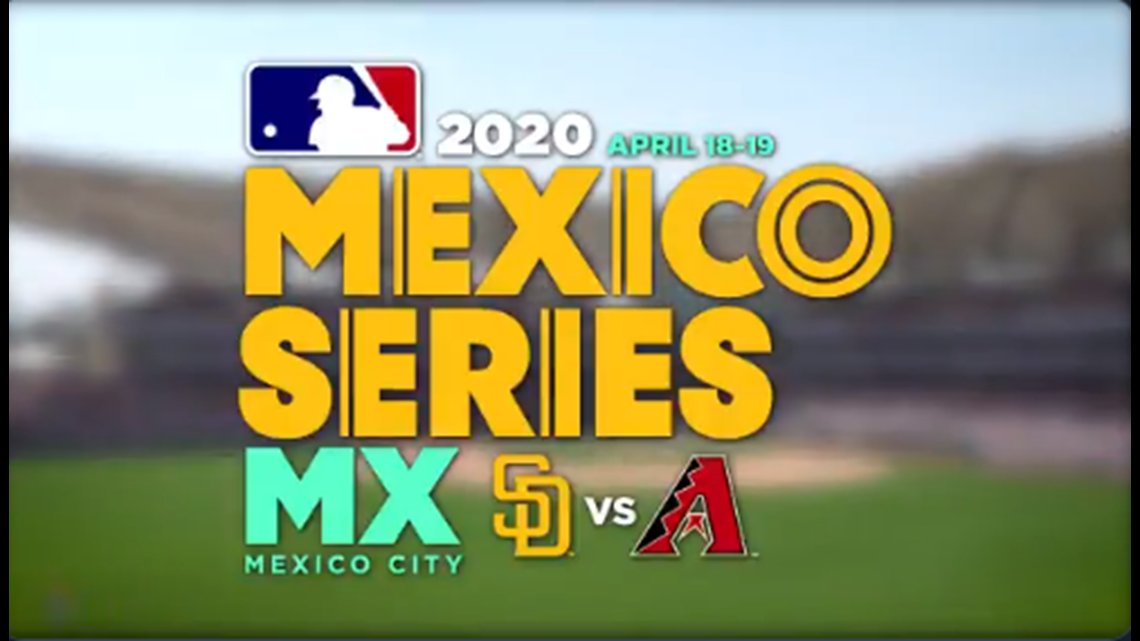 San Diego Padres to take on Diamondbacks in first Mexico City MLB game