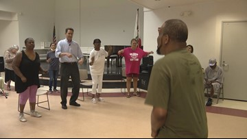 'Blind Rhythm' class provides vibe for visually impaired dancers in San Diego
