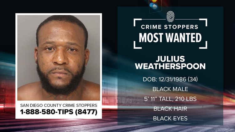 Crime Stoppers Most Wanted: Julius Weatherspoon