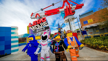 Legoland announces `Lego Movie World' attraction opening in 2020