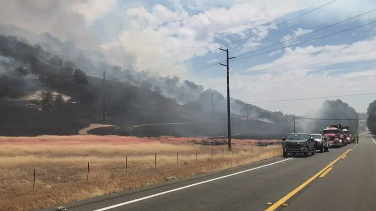 Santa Ysabel fire