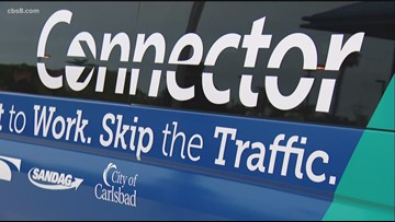 Carlsbad Connector shuttle brings ride-sharing to Coaster commuters