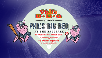 Phil's BBQ holding event at Petco Park for Big Brothers Big Sisters