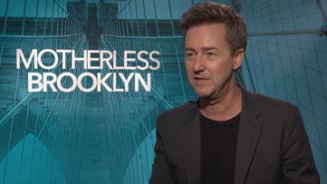 Kelli Gillespie talks to the stars of Motherless Brooklyn