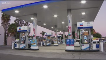 San Diego County gas prices don't move much