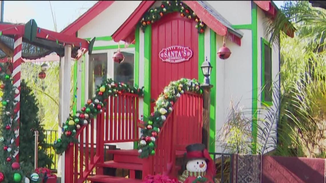 Milkin' San Diego: Santa's Tree House in Jamul