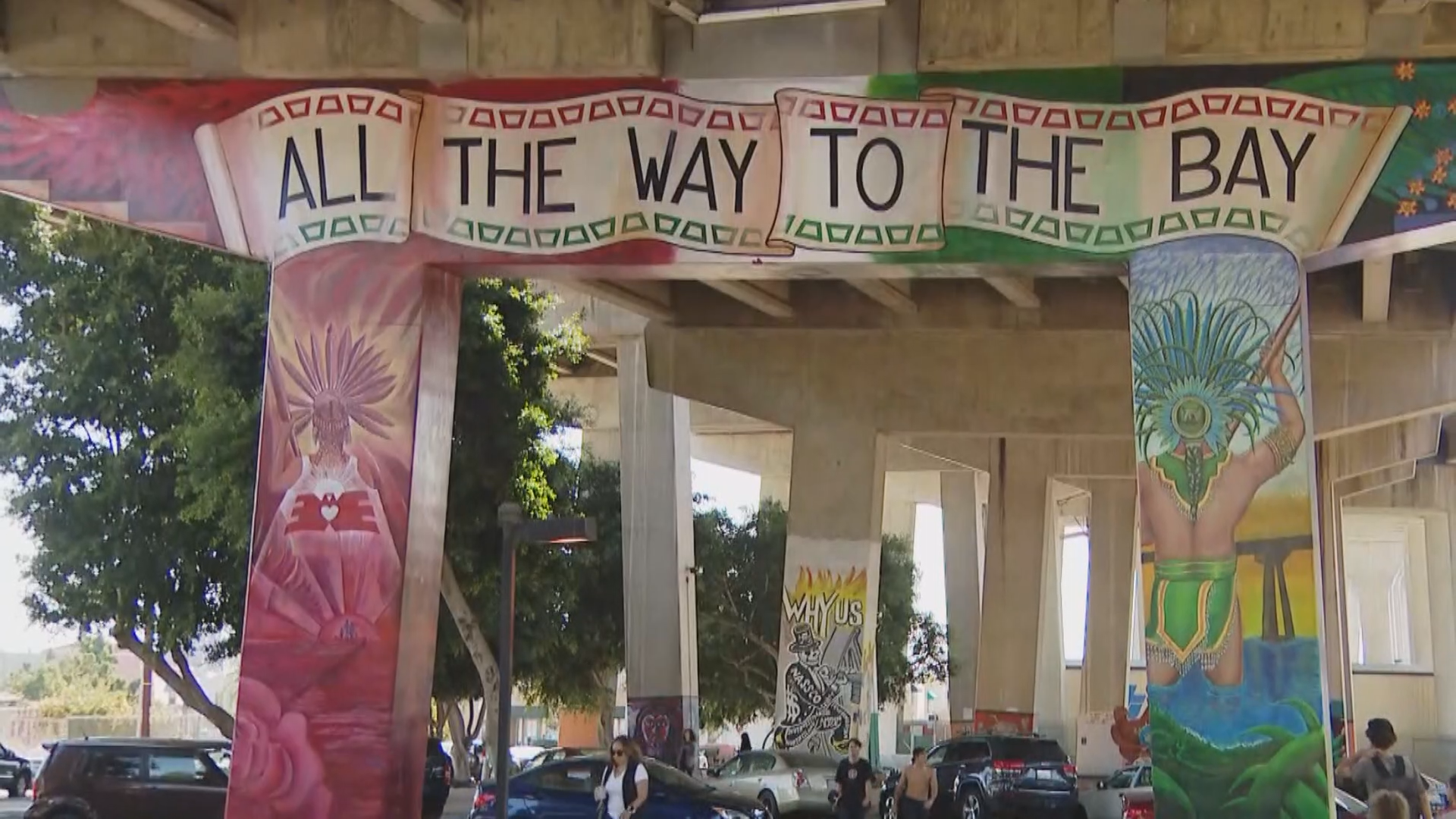 San Diego Artist Explains Significance Of Chicano Park Murals Cbs8 Com