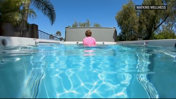 Zevely Zone: Family struck by tragedy surprised with therapy pool