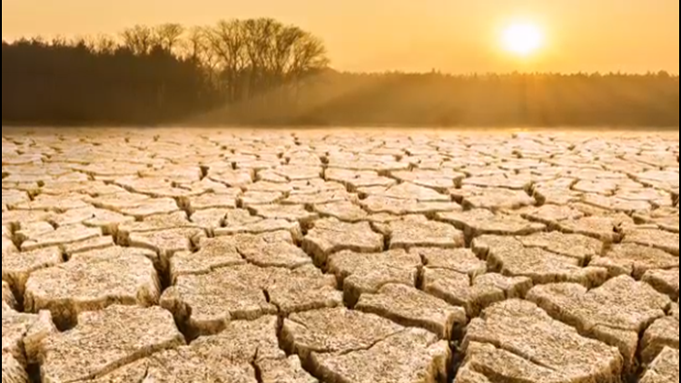 Mega drought impacts western states
