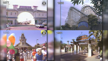 News 8 Throwback: San Diego's Belmont Park, Bazaar del Mundo, Crystal Pier and Seaport Village over the years