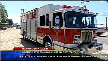 Mysterious odor lingers over San Diego County | cbs8 com