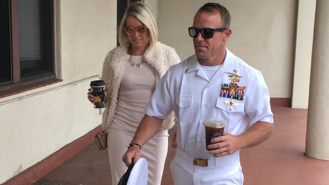 Trump restores Navy SEAL's rank to Chief Petty Officer