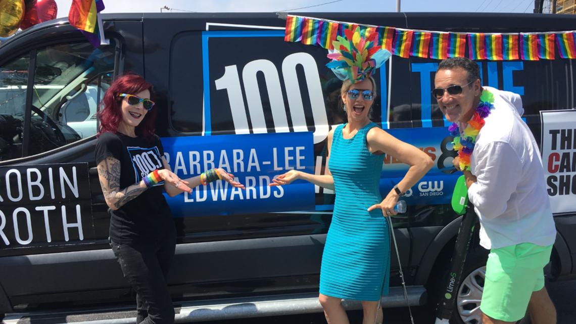 San Diegans celebrate Pride