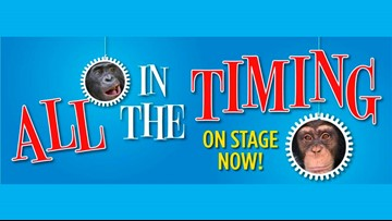 "Win Tickets  to see ""All In The Timing"" at North Coast Repertory Theatre!"
