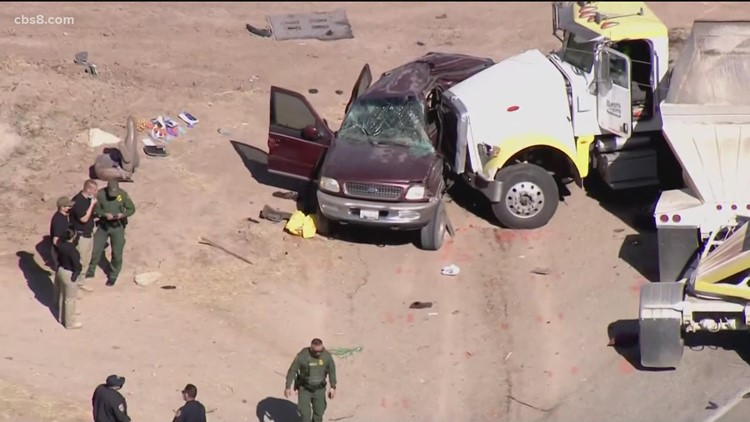Man charged in human smuggling that led to fatal Imperial County crash that killed 13