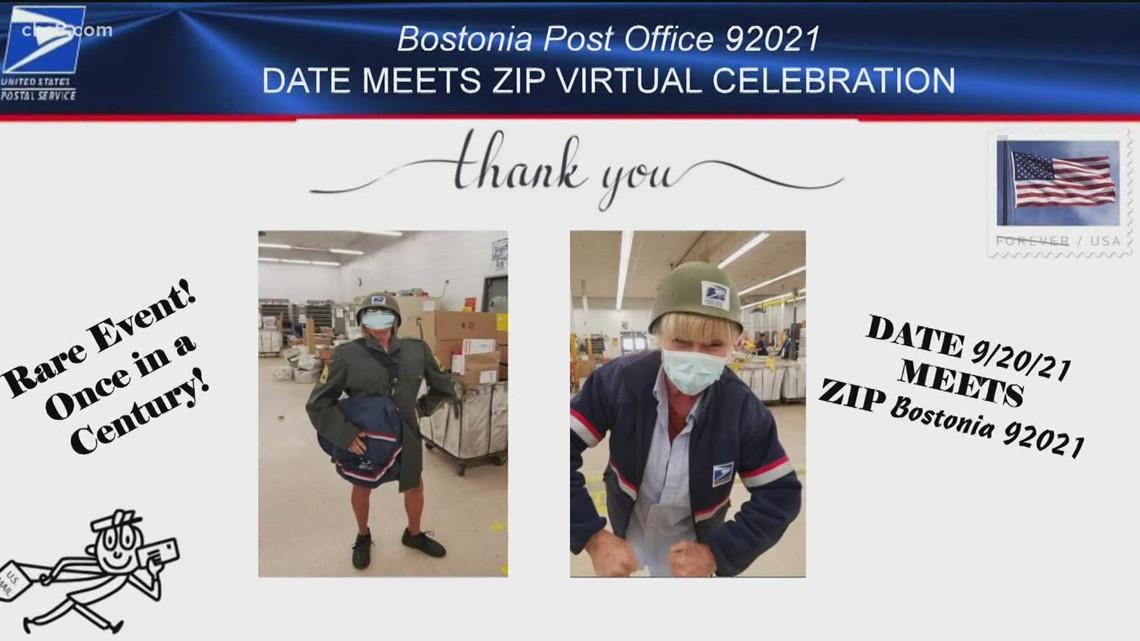 USPS celebrates Date Meet ZIP in El Cajon