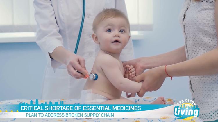 Critical shortage of pediatric medicine