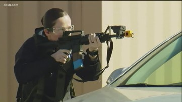 Navy undergoes active shooter drill in San Diego