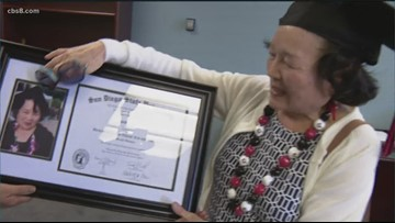 80-year-old SDSU graduate set to walk across the stage
