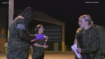 San Diego Marines take coronavirus precautions