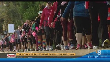 2015 Day 1: Teams begin 60 mile journey for Susan G. Komen 3-Day