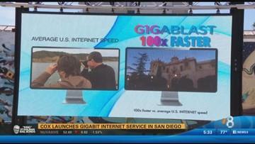 Cox launches Gigabit Internet service in San Diego | cbs8 com