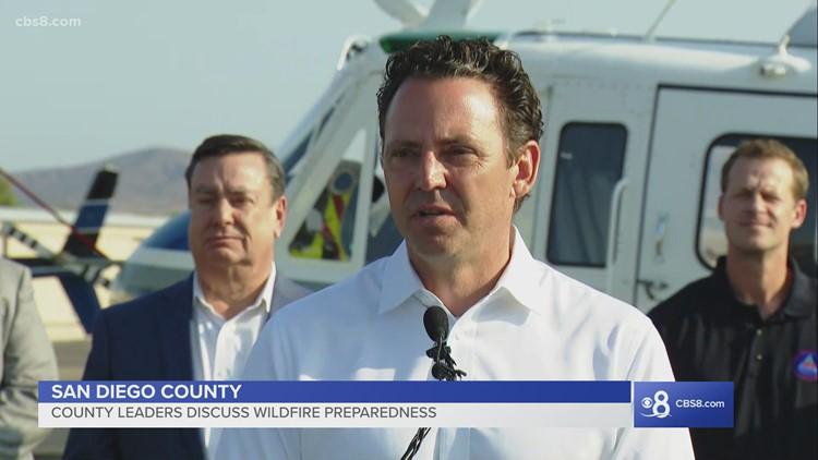 San Diego County leaders discuss wildfire preparedness