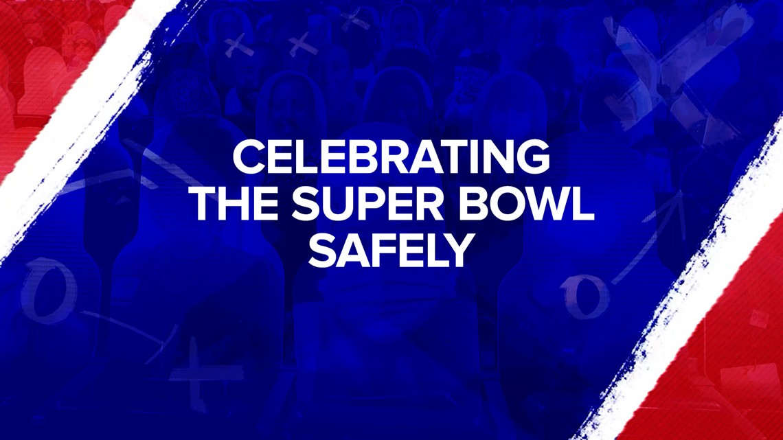 How to celebrate the Super Bowl safely | CDC releases guidelines