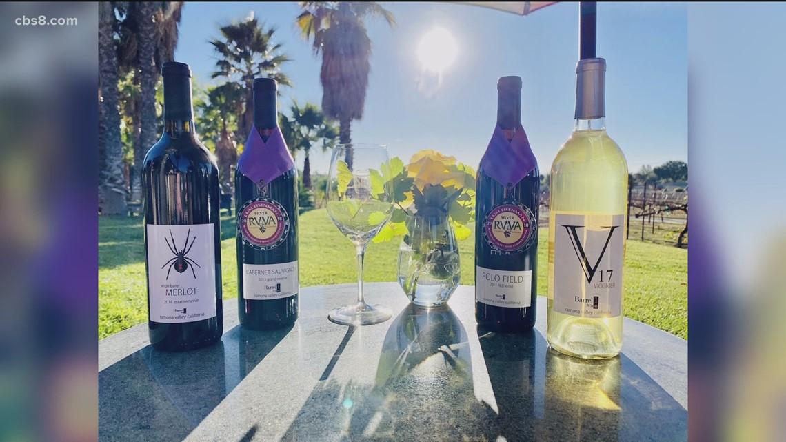 Ramona Valley Vineyards celebrating Summer of Wine Trail