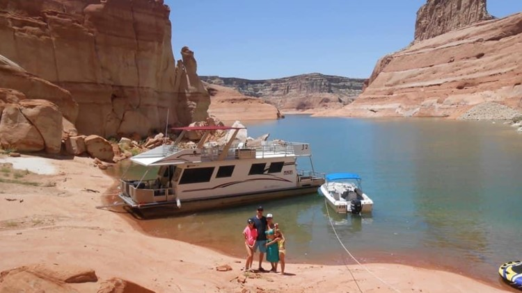 Exceptional Drought: Lake Powell then and now, family revisits 2014 houseboat trip