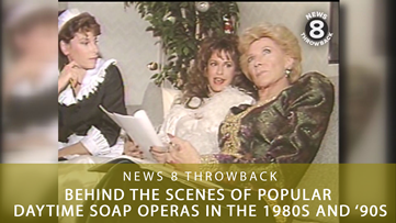 News 8 Throwback: Behind the scenes of popular daytime soap operas in the 1980s and '90s