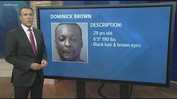 Dominick Leshan Brown: Fugitive wanted for domestic violence and corporal injury on a child
