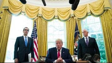 Trump signs order imposing sanctions on Iran supreme leader