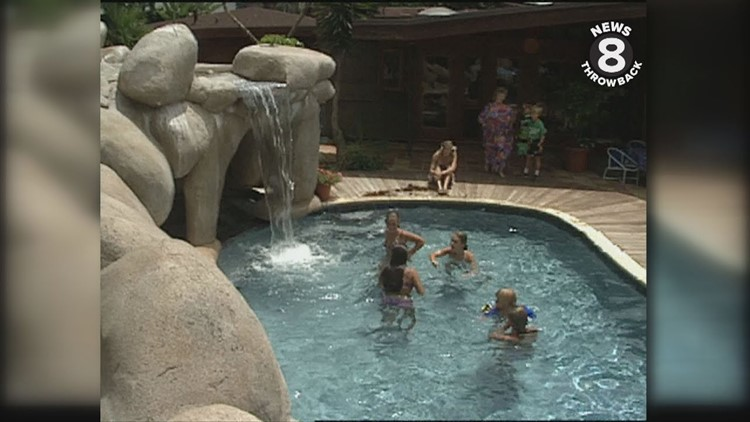 News 8 Throwback: Larry Himmel series on beautiful backyards from 1990s