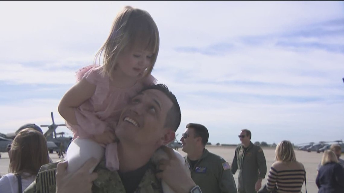 Helicopter Maritime Strike Squadron makes return from 296-day deployment