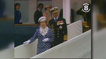 Queen Elizabeth II: Her Majesty the Queen of England visits San Diego in 1983