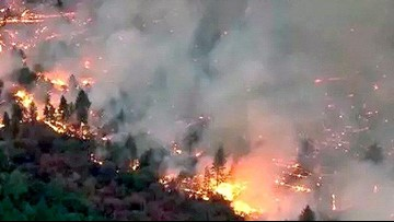 Cranston Fire in Idyllwild at 13,139 acres, 96% contained