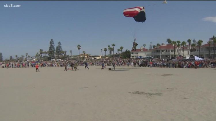 World War II veteran celebrates 100th birthday with Coronado plane jump