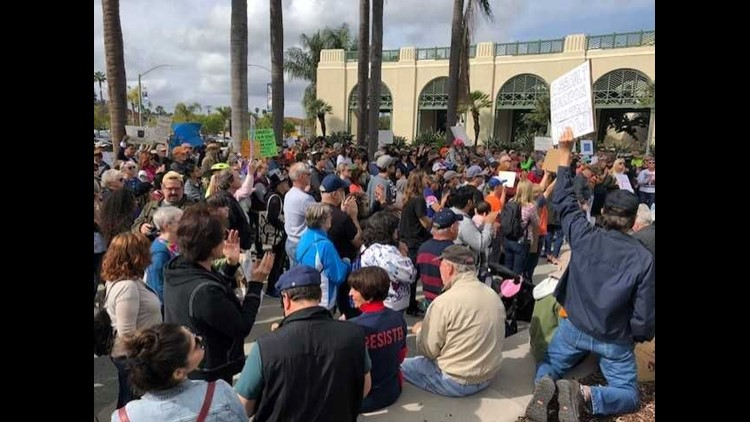 March for Our Lives- Escondido 2