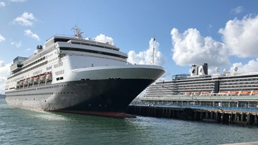 Holland America cruise ship arrives in San Diego with over 800 passengers