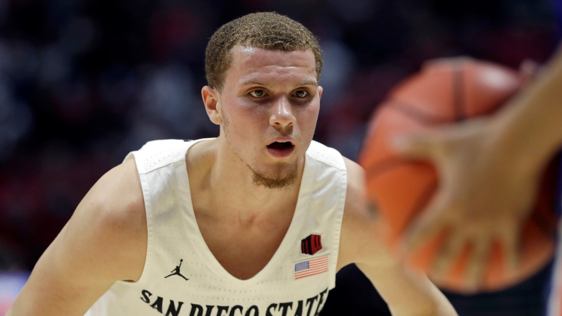 San Diego State Aztecs men's basketball team still undefeated at 26-0
