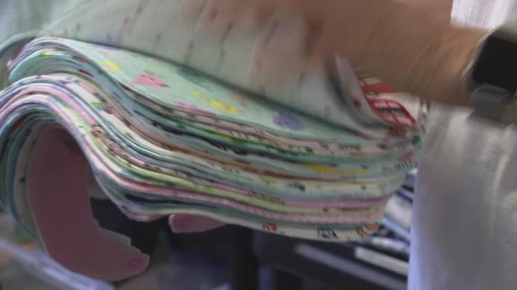 Zevely Zone: San Diego non-profit donates baby clothes to needy families