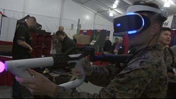 Marine Expo showcases the newest Military tech