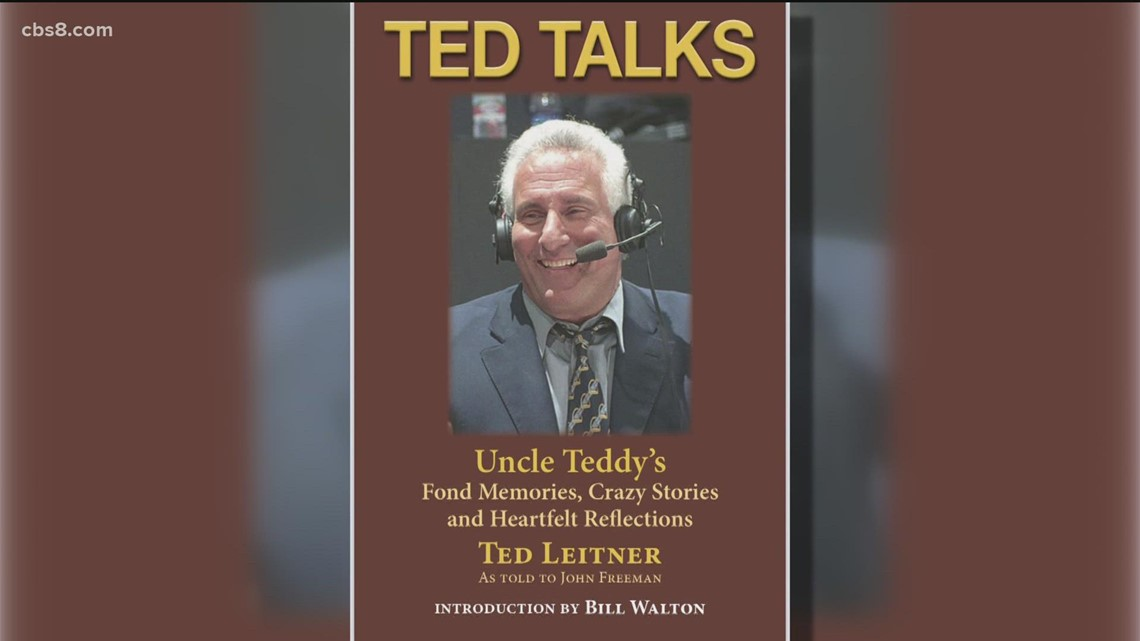 'Ted Talks'   New book by longtime San Diego sports legend, Ted Leitner