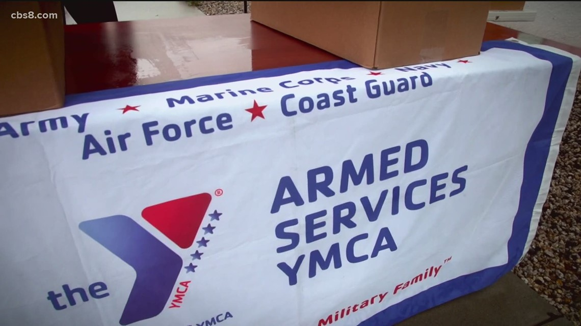 Food insecurity: 400% surge at Armed Services YMCA San Diego food banks during the pandemic