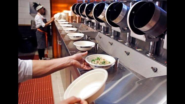 Robot Fast Food 2