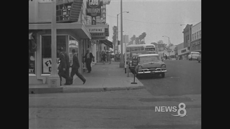 1962 Oceanside cab driver murder archive footage