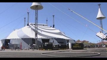 Cirque du Soleil makes a big entrance with Big Top