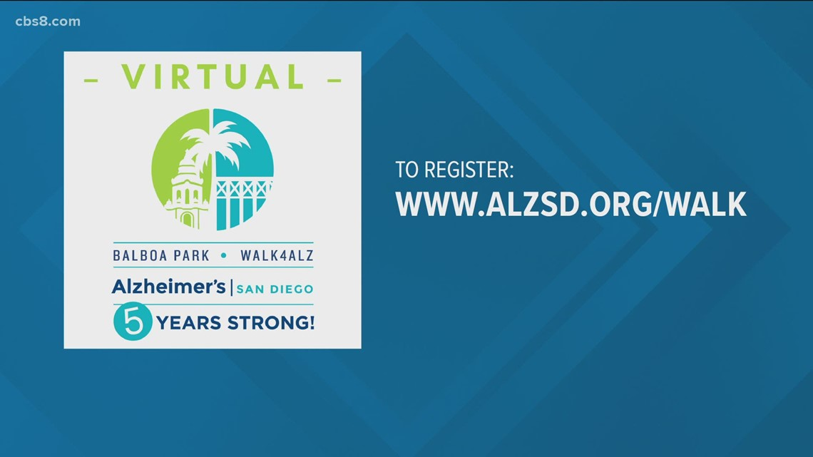Alzheimer's San Diego takes their event virtual on Saturday