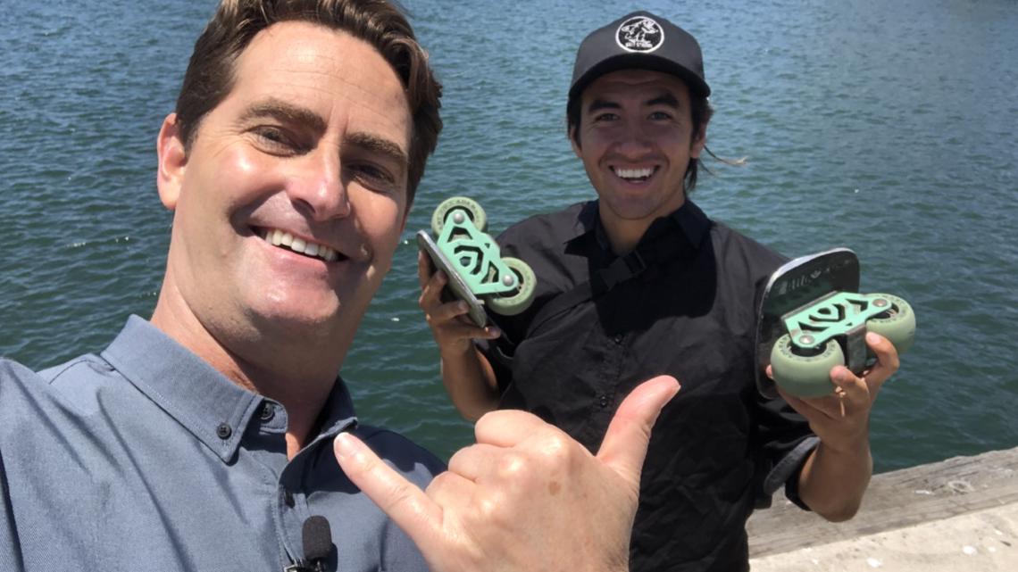 San Diego man is all smiles 'skating' through life